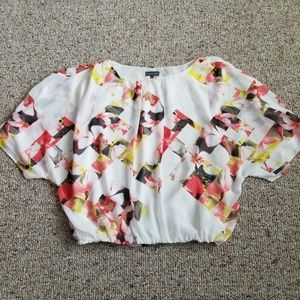 Vince Camuto Short Sleeve Dressy Top Small